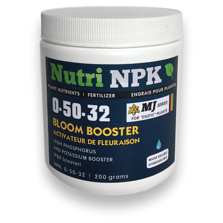 Bloom Booster Cannabis Fertilizer - NutriNPK