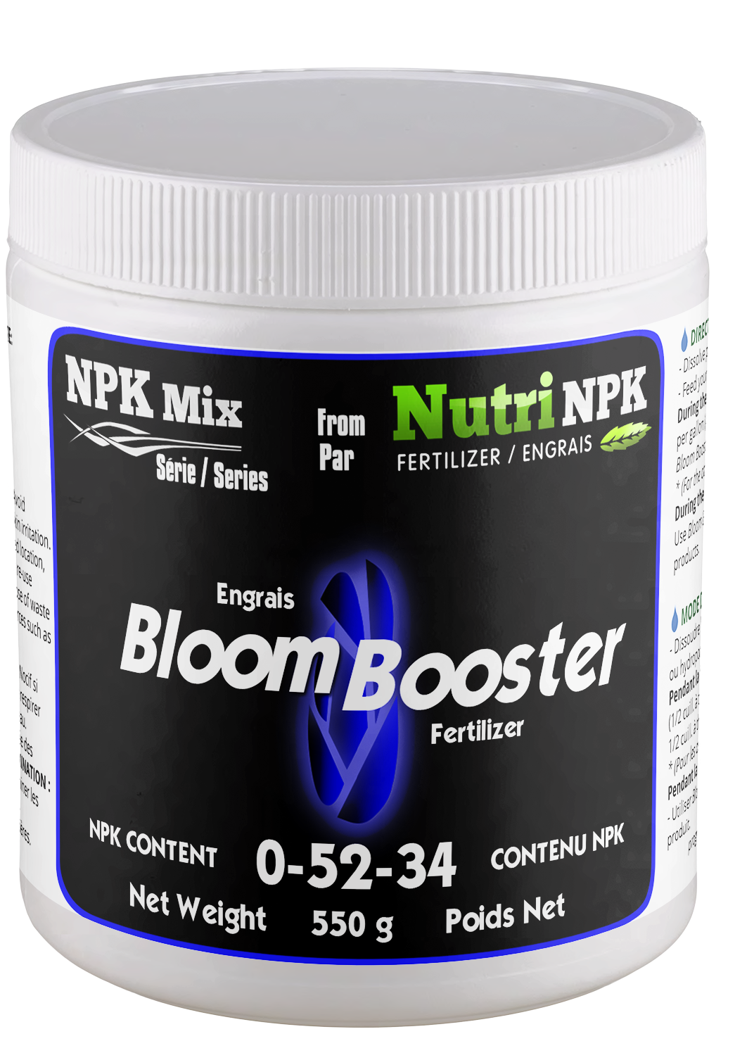 BLOOM BOOSTER Cannabis Fertilizer - NPK Mix by NutriNPK