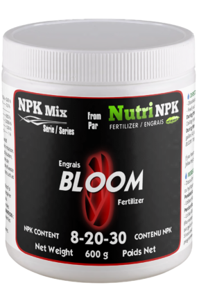 BLOOM cannabis fertilizer NPKMix by NutriNPK