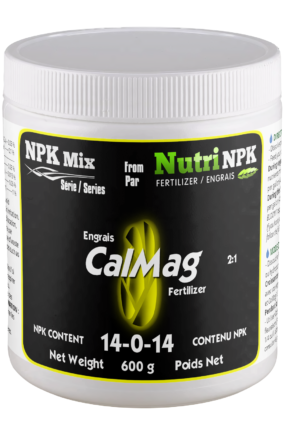 CALMAG cannabis fertilizer NPKMix by NutriNPK