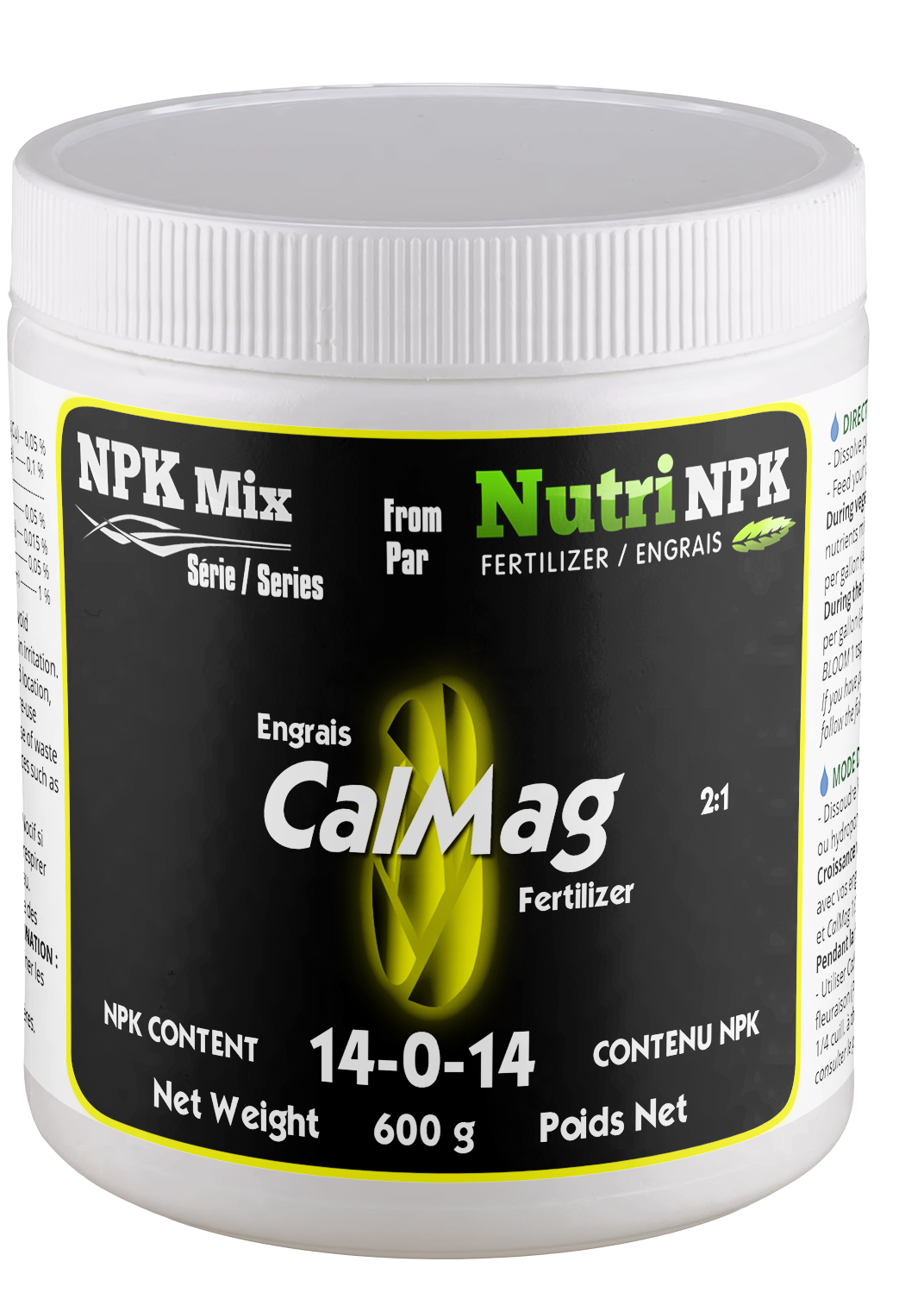 CALMAG Cannabis Fertilizer - NPK Mix by NutriNPK