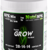 GROW cannabis fertilizer NPKMix by NutriNPK
