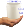 Jar size - format du pot